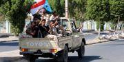 Separatister i Aden.  FAWAZ SALMAN / TT NYHETSBYRÅN