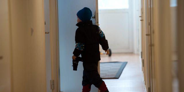 Arkivbild från ett flyktingboende i Pajala. Fredrik Sandberg/TT / TT NYHETSBYRÅN