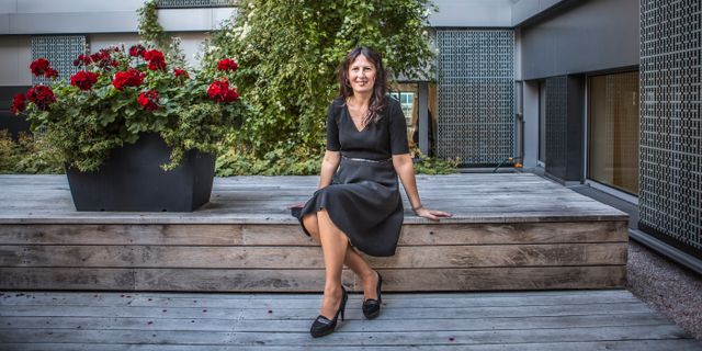 Biljana Pehrsson.  Bezav Mahmod / SvD / TT / TT NYHETSBYRÅN