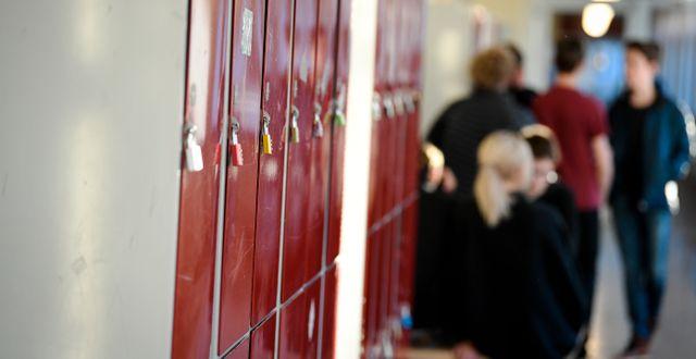 Elever i en grundskola. Arkivbild. Pontus Lundahl/TT / TT NYHETSBYRÅN