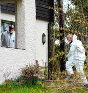 Kriminaltekniker Tom Hagens hus i Lørenskog, utanför Oslo/Arkivbild Heiko Junge/NTB scanpix/TT / TT NYHETSBYRÅN