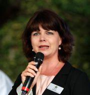 Centerkvinnors förbundsordförande Sofia Jarl. SÖREN ANDERSSON / TT NYHETSBYRÅN
