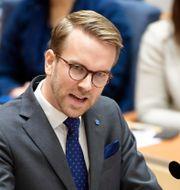 Andreas Carlson (KD).  Henrik Montgomery/TT / TT NYHETSBYRÅN