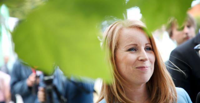 Centerpartiets partiledare Annie Lööf. Adam Ihse /TT / TT NYHETSBYRÅN
