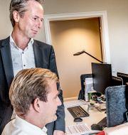 Martin Carlesund, vd för Evolution Gaming.  Tomas Oneborg/SvD/TT / TT NYHETSBYRÅN