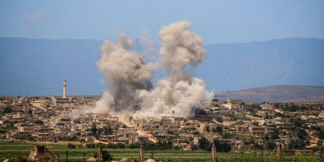 Idlib. Uncredited / TT NYHETSBYRÅN/ NTB Scanpix