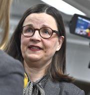 Utbildningsminister Anna Ekström. Claudio Bresciani/TT / TT NYHETSBYRÅN