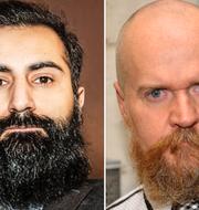 Hanif Bali, Alexander Bard och Jan Emanuel Johansson. TT/Bulletin