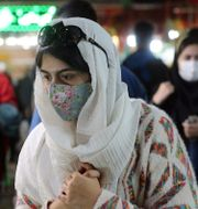 Kvinna i Teheran, Iran/Arkivbild Ebrahim Noroozi / TT NYHETSBYRÅN