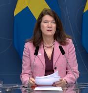 Utrikesminister Ann Linde (S). Regeringen