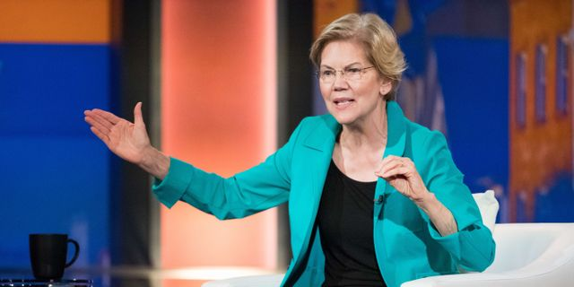 Elizabeth Warren. Sean Rayford / GETTY IMAGES NORTH AMERICA