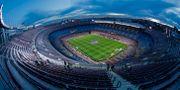 Camp Nou i Barcelona.  Joan Monfort / TT NYHETSBYRÅN