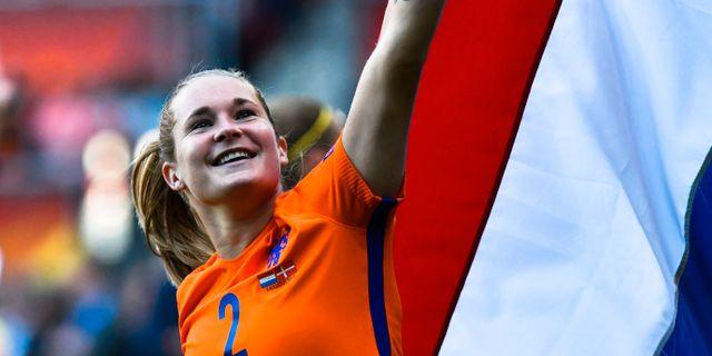 Nederländernas Desiree van Lunteren.  Patrick Post / TT / NTB Scanpix