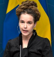 Amanda Lind (MP) Claudio Bresciani/TT / TT NYHETSBYRÅN