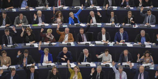 EU-parlamentet. FREDERICK FLORIN / AFP