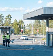 Norsksvenska gränsen vid Ørje som gränsar mot Värmland/Arkivbild. Schrøder, Tor Erik / TT NYHETSBYRÅN