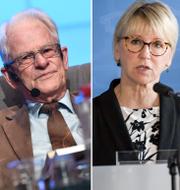 Ingvar Carlsson, Margot Wallström, Björn von Sydow och Bengt Westerberg/Arkivbilder TT