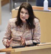 Utrikesminister Ann Linde (S)  Henrik Montgomery/TT / TT NYHETSBYRÅN