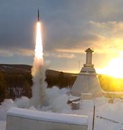 Matilda Ernkrans (S)/Raketuppskjutning på Esrange-basen i Kiruna.  Esrange/TT