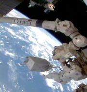 Rymdstationen ISS, 27 januari 2021. TT NYHETSBYRÅN