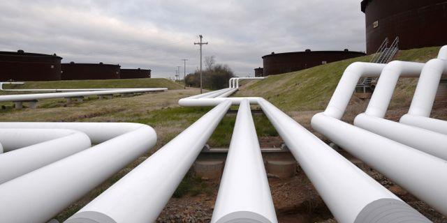USA:s oljehubb i Cushing, Oklahoma. Nick Oxford / TT NYHETSBYRÅN