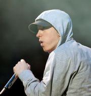 Eminem.  JUMANA EL HELOUEH / TT NYHETSBYRÅN