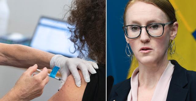 Arkivbild, vaccinering/Emma Spak TT.