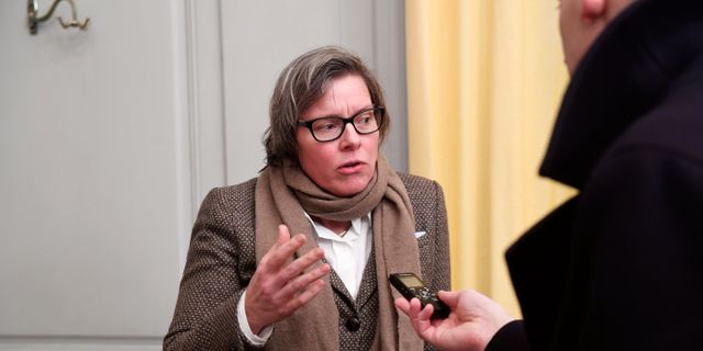 Lena Andersson.  Fredrik Sandberg/TT / TT NYHETSBYRÅN