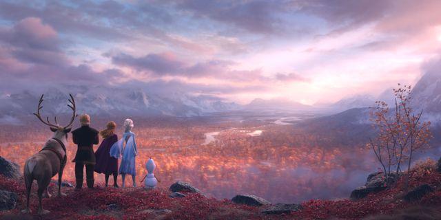 Bild ur filmen Frost 2. Walt Disney Animation Studios/TT / TT NYHETSBYRÅN