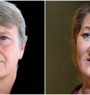 Arkivbild: Medlingsinstitutets generaldirektör Irene Wennemo, LO:s ordförande Susanna Gideonsson.  TT
