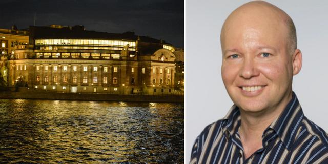 Stefan Nilsson. TT/riksdagen