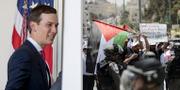Trumps svärson Jared Kushner är ansvarig för att lägga fram USA:s fredsplan för Israel–Palestinakonflikten.  TT