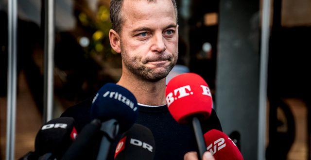 Morten Østergaard meddelade sin avgång i onsdags.  Martin Sylvest / TT NYHETSBYRÅN