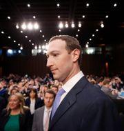 Mark Zuckerberg. Arkivbild. Alex Brandon / TT NYHETSBYRÅN