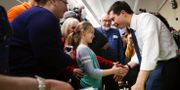 Buttigieg möter väljare i Iowa. ELIJAH NOUVELAGE / TT NYHETSBYRÅN