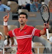Novak Djokovic. Michel Euler / TT NYHETSBYRÅN