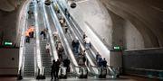 Interiörbild från nya citybanan. Christine Olsson/TT / TT NYHETSBYRÅN