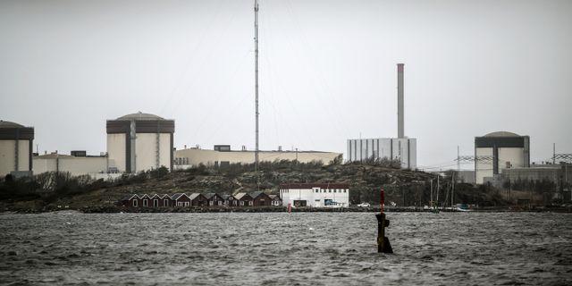 Ringhals andra reaktor. Bjorn Larsson Rosvall / TT NYHETSBYRÅN