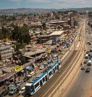 Addis Abeba.  Mulugeta Ayene / TT NYHETSBYRÅN