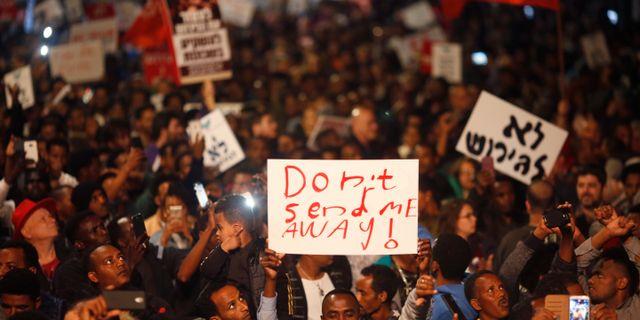 Demonstration mot israels medverkan i em
