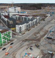 Illustrationsbild. Nya Barkarbystaden i Järfälla norr om Stockholm. Fredrik Sandberg/TT / TT NYHETSBYRÅN