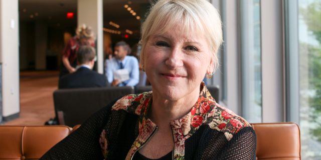 Margot Wallström. John Alexander Sahlin/TT / TT NYHETSBYRÅN