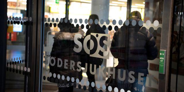 Södersjukhuset i Stockholm. Jessica Gow/TT / TT NYHETSBYRÅN