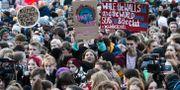 Klimatprotest i Berlin, Tyskland.  Michael Sohn / TT NYHETSBYRÅN