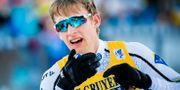 Simon Lageson tar sig i mål. FREDRIK VARFJELL / BILDBYR N NORWAY