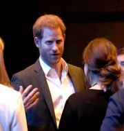 Prins Harry på konferensen i Edinburgh. Andrew Milligan / TT NYHETSBYRÅN