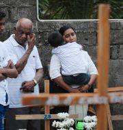 Begravning för en 13-årig pojke efter terrordåden i Sri Lanka. Manish Swarup / TT NYHETSBYRÅN/ NTB Scanpix