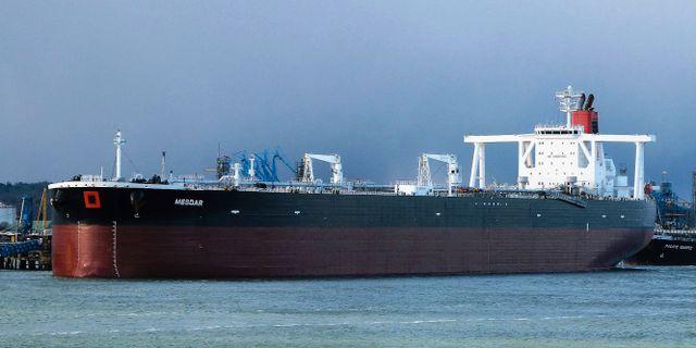 Fartyget Mesdar i maj 2013 John Pitcher / TT NYHETSBYRÅN/ NTB Scanpix