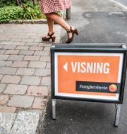 Visning av bostad. Arkivbild.  Tomas Oneborg/SvD/TT / TT NYHETSBYRÅN