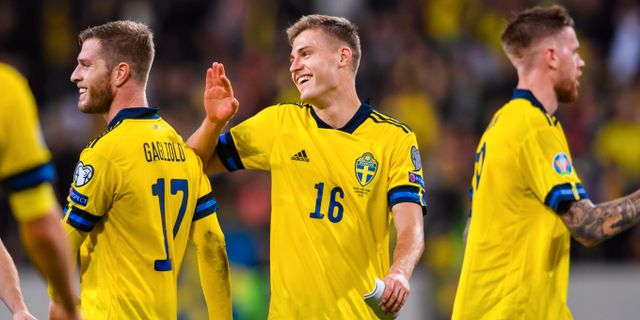 Mattias Svanberg firar. MAXIM THORE / BILDBYRÅN